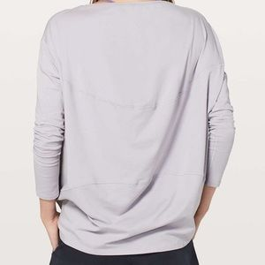 Lululemon Back in Action Long Sleeve Top